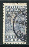 CONGO BELGE- Y&T N°136- Oblitéré - Congo Belge
