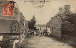 CPA 22 MAEL CARHAIX ROUTE DU MOULIN DE LA PIE - France
