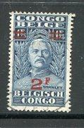 CONGO BELGE- Y&T N°165- Oblitéré - Congo Belge
