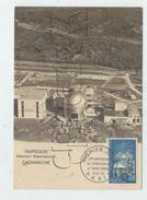 """Saint-Paul-lez-Durance (13) : Vue Aérienne Sur L'entrée Du Réacteur Nucléaire Exp """"Rapsodie"""" à Cadarache  En 1965 GF - Frankreich"""