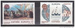 ESPAÑA 1992 - EUROPA CEPT - Edifil Nº 3196-3197 - Yvert 2799-2800 - 1931-Hoy: 2ª República - ... Juan Carlos I