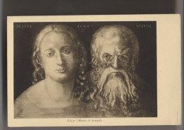 Dürer - MARIE Et JOSEPH - Editeur Ch.Piccardy - Vierge Marie & Madones