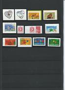 FRANCE - ANNEE 2004 - 13 Timbres Autoadhésifs (2 De Feuilles Et 11 De Carnets). - Adhesive Stamps