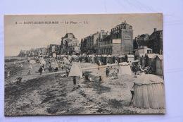 SAINT-AUBIN-sur-MER-la Plage-animee - Saint Aubin