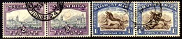 10523 Africa Do Sul 104a+106a + 105a+107a Se Tenant U - South Africa (1961-...)