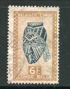 CONGO BELGE- Y&T N°291- Oblitéré - Congo Belge