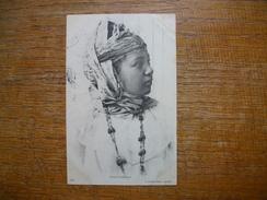 Carte Assez Rare De 1909 , Tunisie , Jeune Bédouine - Tunesië