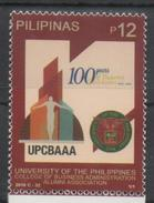 PHILIPPINES, 2016, MNH, UNIVERSITY OF THE PHILIPPINES, BUSINESS ADMINISTRATION, EDUCATION,1v - Métiers