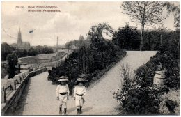 57 METZ - Nouvelles Promenades    (Recto/Verso) - Metz