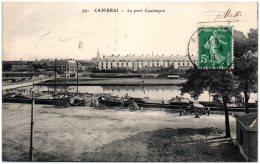 59 CAMBRAI - Le Port Cantimpré   (Recto/Verso) - Cambrai