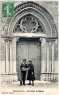 27 PACY-sur-EURE - Le Portail De L'église    (Recto/Verso) - Pacy-sur-Eure