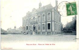 27 PACY-sur-EURE -Place De L'hotel De Ville    (Recto/Verso) - Pacy-sur-Eure