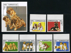1990/2000 - AZERBAIJAN - Catg. Mi. 306/312 - NH - (ST330.517) - Azerbaijan