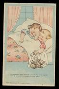 BAMBINI - CHILDREN ENFANTS - KINDER - BAMBIN CHE DORMONO - VIAGGIATA 1945 (40) - Disegni Infantili