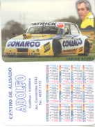 FABIAN ACUÑA AUTOMOVILISMO AUTOMOBILISME ALMANAQUE DE BOLSILLO CORREDOR CAR RACES TURISMO CARRETERA ARGENTINA AÑO 2004 - Kalenders