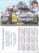 JUAN M. PATO SILVA  AUTOMOVILISMO AUTOMOBILISME ALMANAQUE DE BOLSILLO CORREDOR CAR RACES TURISMO CARRETERA ARGENTINA - Kalenders