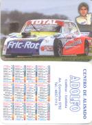 DIEGO AVENTIN  AUTOMOVILISMO AUTOMOBILISME ALMANAQUE DE BOLSILLO CORREDOR CAR RACES TURISMO CARRETERA ARGENTINA - Kalenders