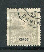 CONGO PORTUGAIS- Y&T N°14- Oblitéré - Portugiesisch-Kongo