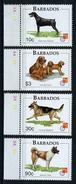 1990/2000 - BARBADOS  - Catg. Mi. 914/917 - NH - (ST330.517) - Barbados (1966-...)