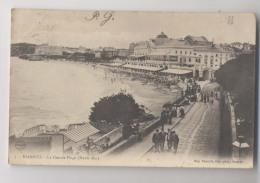 BIARRITZ - 1904 - La Grande Plage - Animée - Haute Mer - Biarritz