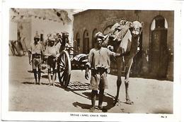 YEMEN - Native Camel Carts Aden - Yémen