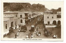 YEMEN - The Crater Bazaar - Aden - Yémen