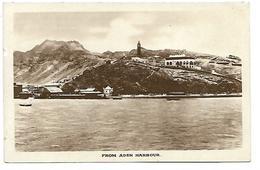 YEMEN - From Aden Harbour - Yémen