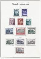 POLAND GENERALGOUVERNEMENT 1941/43 MICHEL 63-70, 113-116 CANCELLED CV 13.00 EUR - 1939-44: 2. WK