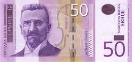 Serbia P.56a 50 Dinars 2011  Unc - Serbia