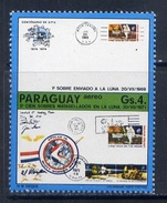 PARAGUAY 1974 №2597 COSMOS. 100 Years Of The Universal Postal Union (UPU). UPU
