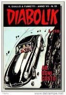 Auto Car Jaguar CPM Kover Kollection 121 Carte Bandes Dessinées Diabolik Les Kriminal Italien BD Cartes Postale - Cómics