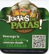 Lote P138, Peru, Posavaso, Coaster, Pilsen, Callao, Jueves De Patas, Not Perfect Coaster - Sous-bocks