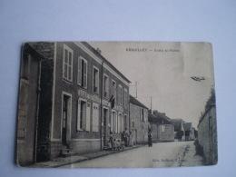 BREUILLET  (91) Ecoles Et Mairie (animee) Used 19?? - Frankrijk