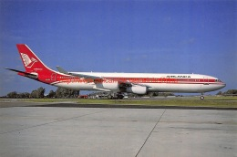 Air Lanka - Airbus A340 - 1946-....: Moderne