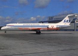 SAS Scandinavian - McDonnell Douglas DC-9 - 1946-....: Moderne