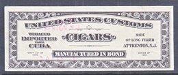US  CUSTOMS  CIGARS  (o) - Revenues