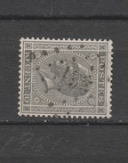 COB 17A Oblitéré Pt 138 Forest - 1865-1866 Linksprofil