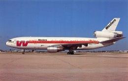 Western Airlines - McDonnell Douglas DC-10 - 1946-....: Moderne