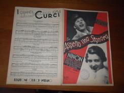 SPARTITO  ASPETTO UNA SIGNORA  1934 - Musica Popolare