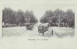 Reparaturen Am Stromkabel - Tram In Marseille-Prado       (A-28-120706) - Tram