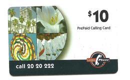 BERMUDA PHONE CARD Logic Phone $10 2001 - USED / NO AIRTIME