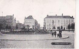 CPA Ypres - Place De La Gare - Feldpost - K.B. IV. Infant. Division - 1915 (27933) - Ieper