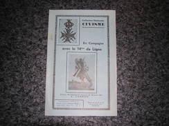 EN CAMPAGNE AVEC LE 14 ème DE LIGNE Régionalisme Armée Belge Guerre 40 45 Collection Civisme - War 1939-45