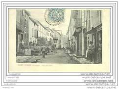 SAINT-SERNIN - Rue Du Fort - Oblitération De 1904 - Millau