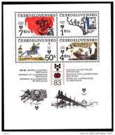CSSR 1983 Block Mi. 55 Postfrisch MNH** - Cecoslovacchia