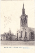 LEDE 1905 Aalst Alost - Kerk En Gemeentehuis Eglise Et Maison Communale - Uitg. De Munter De Prez - Aalst