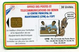 TK11601 BENIN - Chip - Benin
