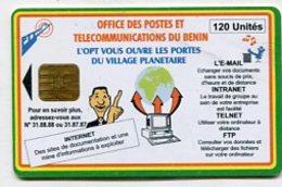 TK11603 BENIN - Chip - Benin