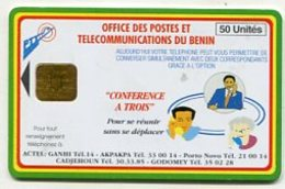 TK11604 BENIN - Chip - Different Back