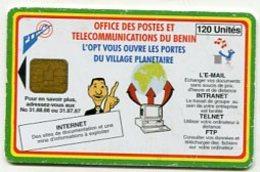 TK11605 BENIN - Chip - Different Back